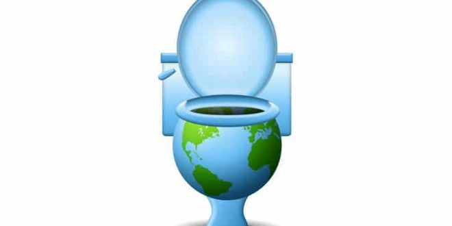 toilet-earth